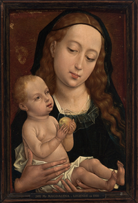 The Virgin and Child holding an Apple