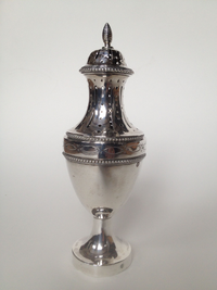 Sugar caster (possibly spice box)
