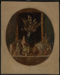Still Life with Chinese Figure